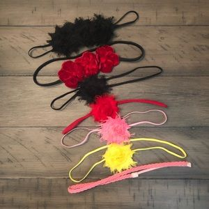 Other - Lot of 7 Baby Girl Headbands